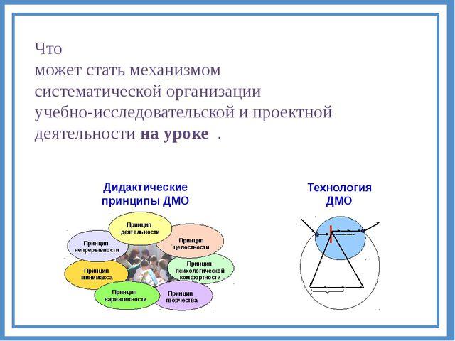 Что может стать механизмом систематической организации учебно-исследовательск...
