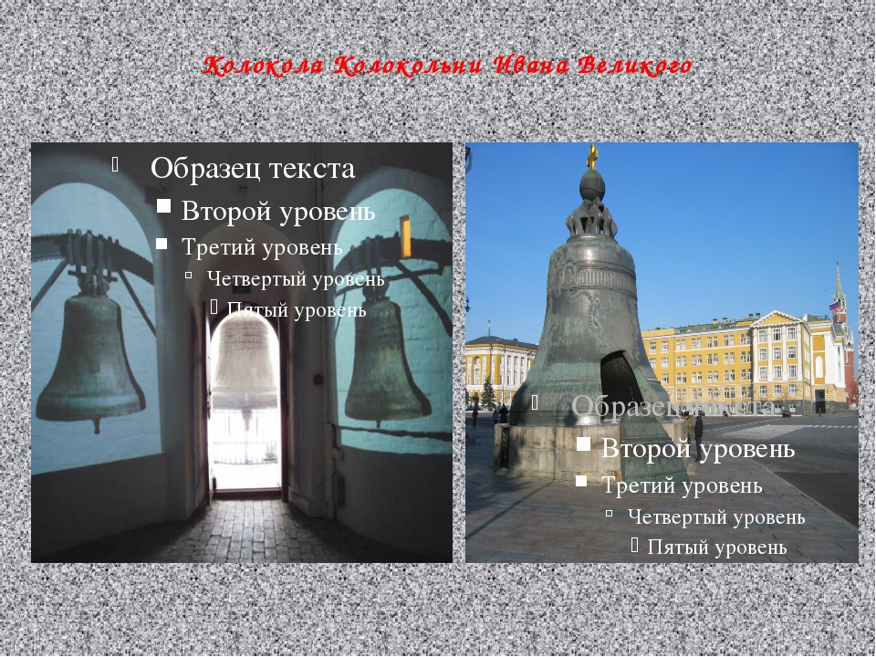 Колокола Колокольни Ивана Великого