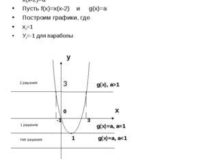 В зависимости от значения а, найти всевозможные решения уравнения. x2-2x-a=0