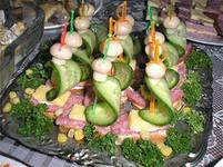 праздничные бутерброды корабли