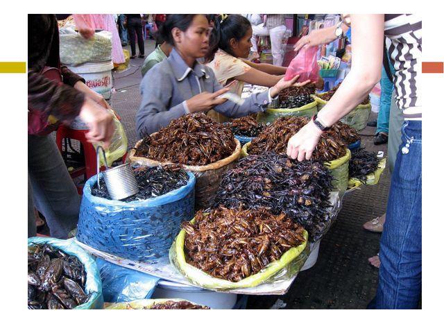 Некоторые пауки съедобны. В странах Азии некоторых пауков готовят и использу...