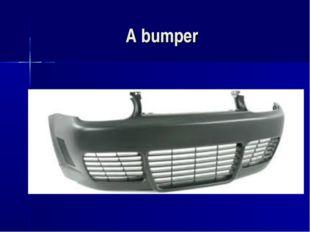 A bumper