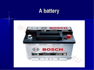 A battery