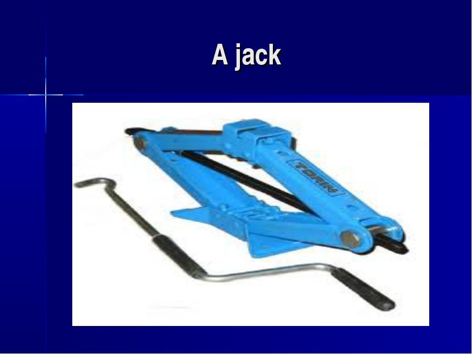 A jack