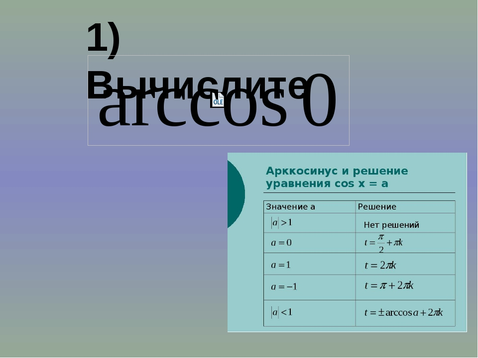 1) Вычислите