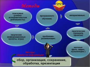 Методы обработки информации: Методы
