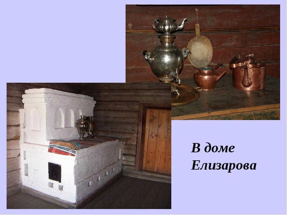 В доме Елизарова