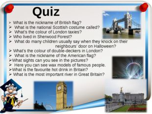 What is the nickname of British flag? What is the national Scottish costu