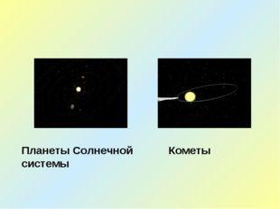 Кометы Планеты Солнечной системы