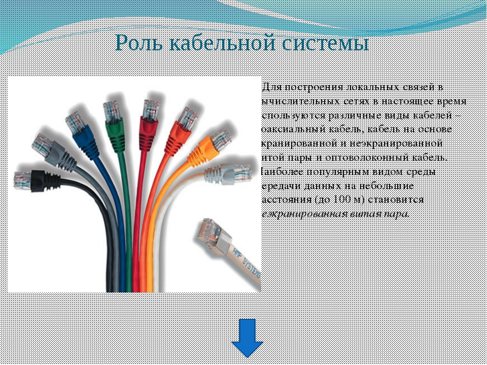 Преимущества структурированной кабельной системы Возможность легкого расширен...