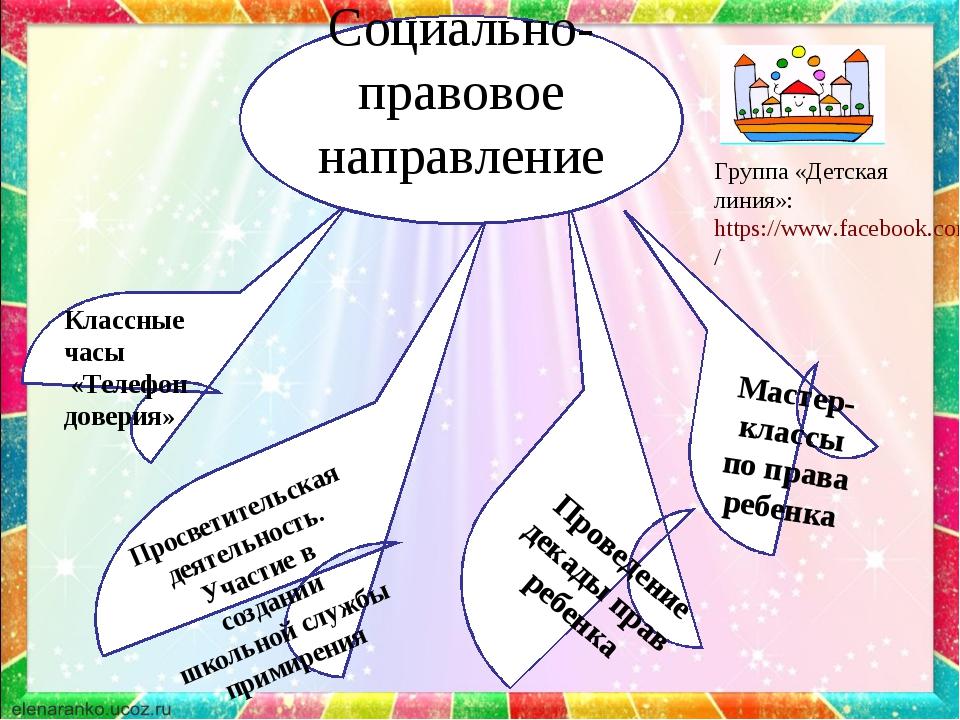 Просветительская деятельность. Участие в создании школьной службы примирения...
