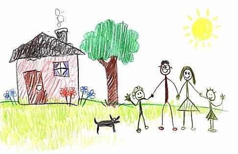 Детский рисунок как информативный тест. . Что рису