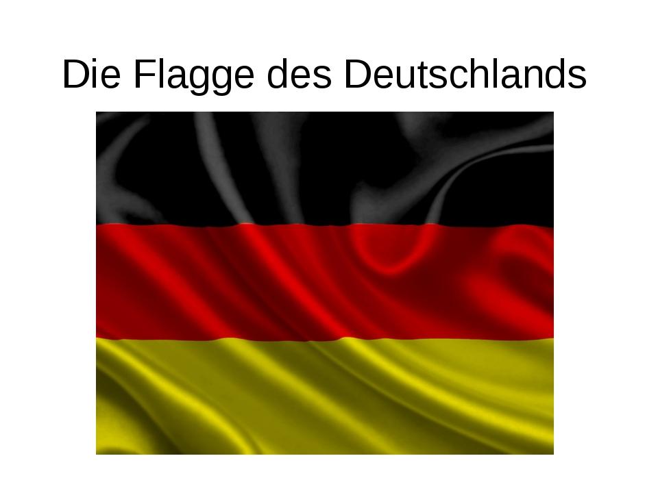 Die Flagge des Deutschlands