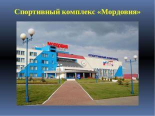 Спортивный комплекс «Мордовия»