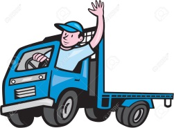 C:\Users\Константин\Desktop\32311174-Illustration-of-a-flatbed-truck-with-driver-waving-hello-on-isolated-white-background-done-in-cartoo-Stock-Vector.jpg