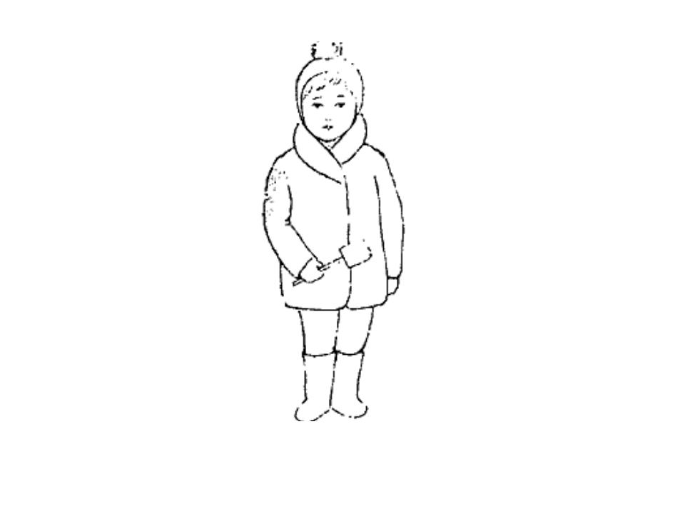 Освоение пропорций и основных особенностей формы фигуры человека удобнее нача...
