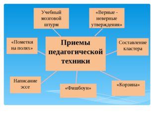 Учебный мозговой штурм «Фишбоун» Написание эссе «Корзина» «Пометки на полях»