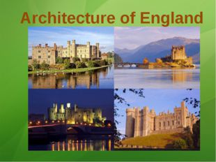 Architecture of England