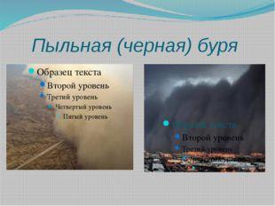 Пыльная (черная) буря
