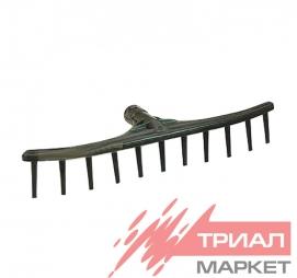 Грабли метал 12 зубьев витые
