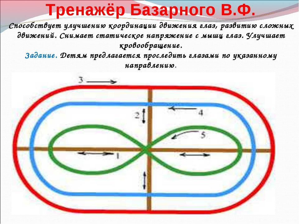Тренажёр Базарного В.Ф. Способствует улучшению координации движения гл...