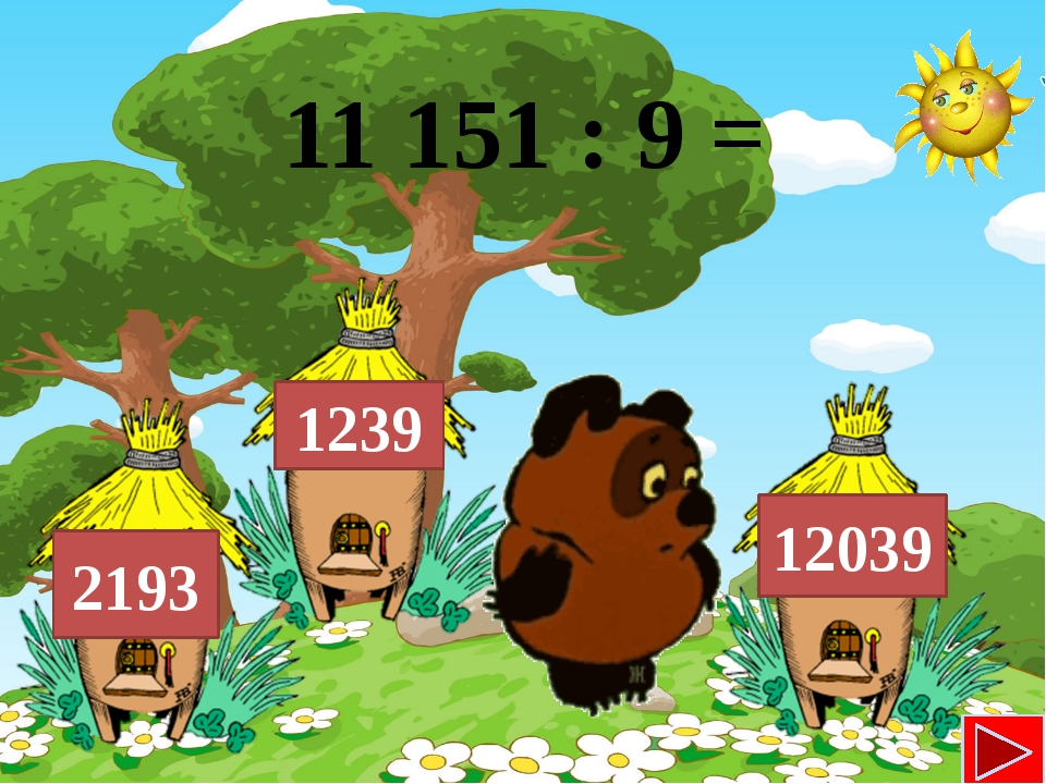 11 151 : 9 = 1239 12039 2193