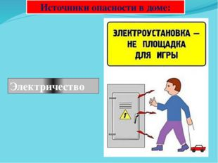 Источники опасности в доме: Электричество