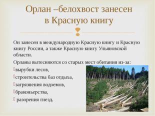 Он занесен в международную Красную книгу иКрасную книгу России, а также Крас