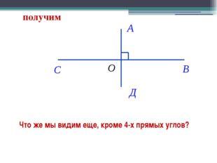Что же мы видим еще, кроме 4-х прямых углов?  получим