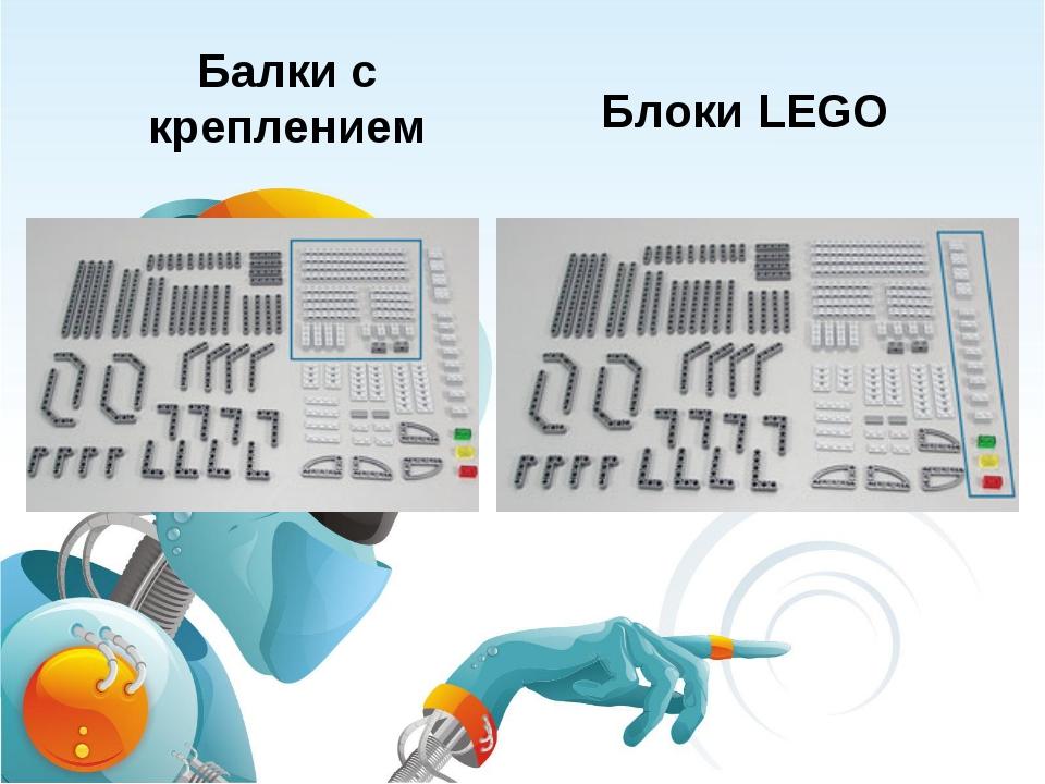 Балки с креплением Блоки LEGO