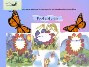 Today we have information about type of noun countable, uncountable and also