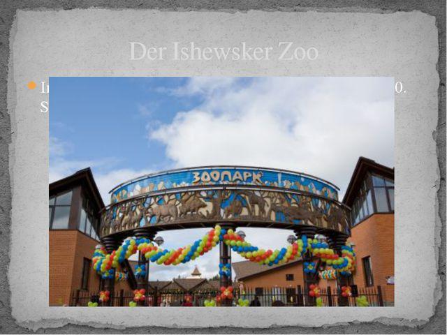 Im Februar 2007 begann man den Bau des Zoos. Am 10. September 2008 wurde der...