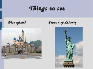 Things to see Disneyland Statue of Liberty