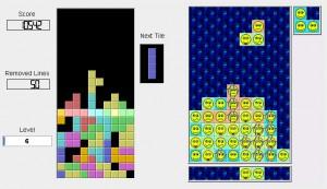 Тетрис - стандартная игра в Linux