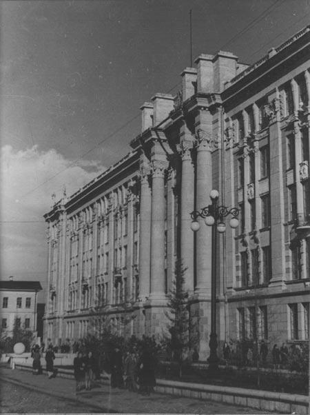 Екатеринбург Красная линия: Площадь 1905 года 2. Здание Горо…