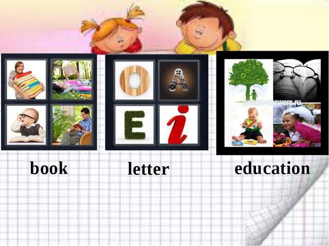 book letter education