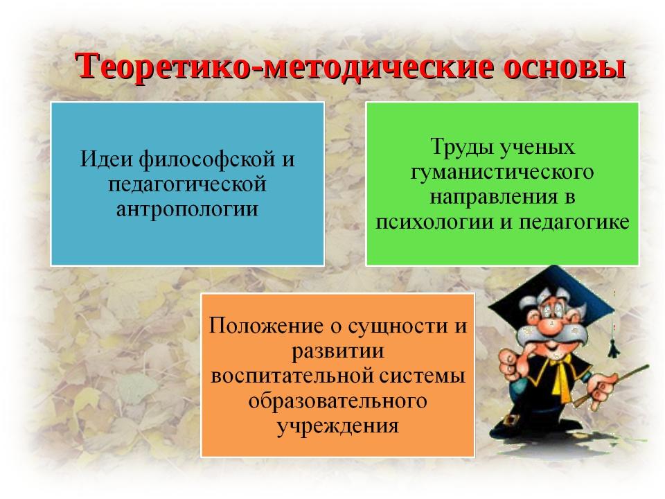 Теоретико-методические основы