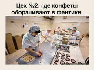 Цех №2, где конфеты оборачивают в фантики