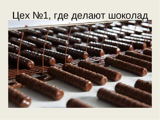 Цех №1, где делают шоколад