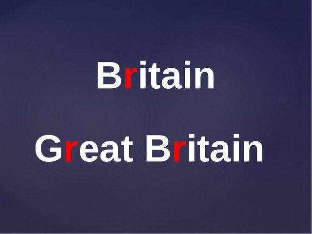Britain Great Britain