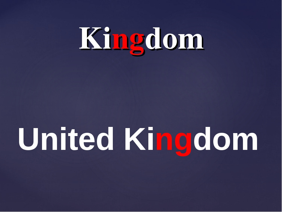 Kingdom United Kingdom