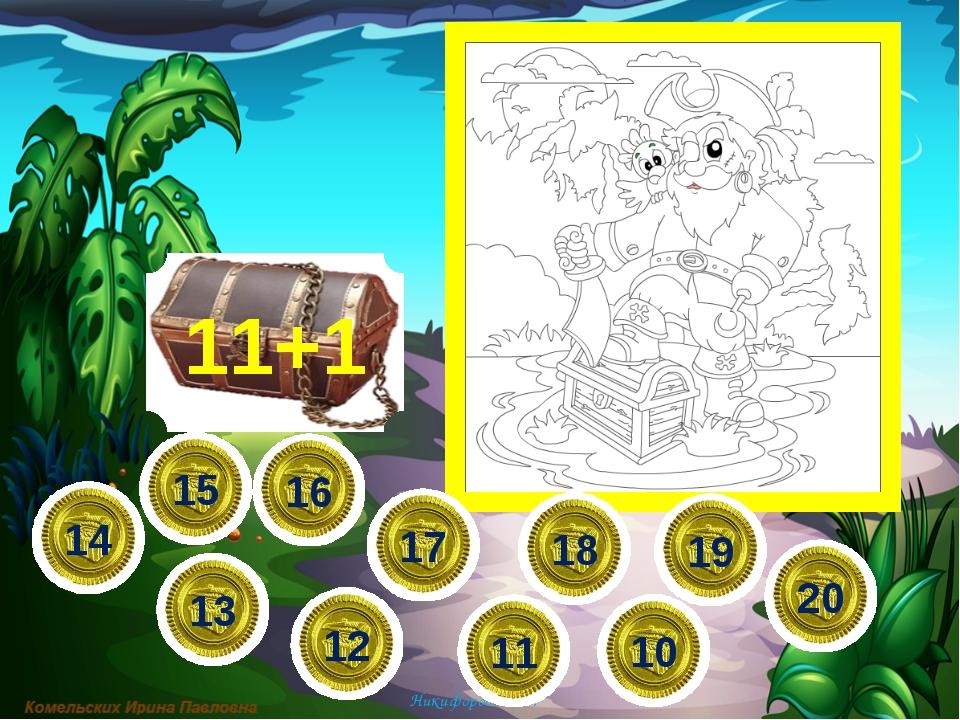 13+1 11 14 19 12 13 18 15 16 17 10 20 Никифорова Н.В. 6∙4= 6∙5= 6∙6= 6∙7=