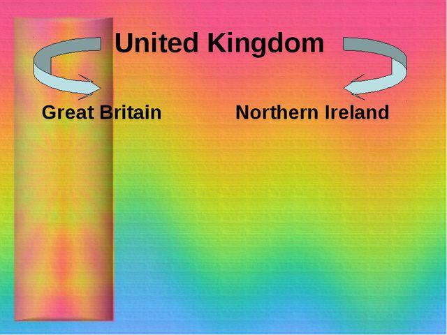 United Kingdom Great Britain Northern Ireland