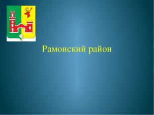 Рамонский район