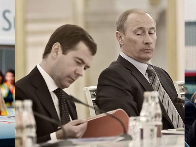 Что объединяет этих людей? Хрущев Брежнев Горбачев Ельцин Путин Медведев Это...
