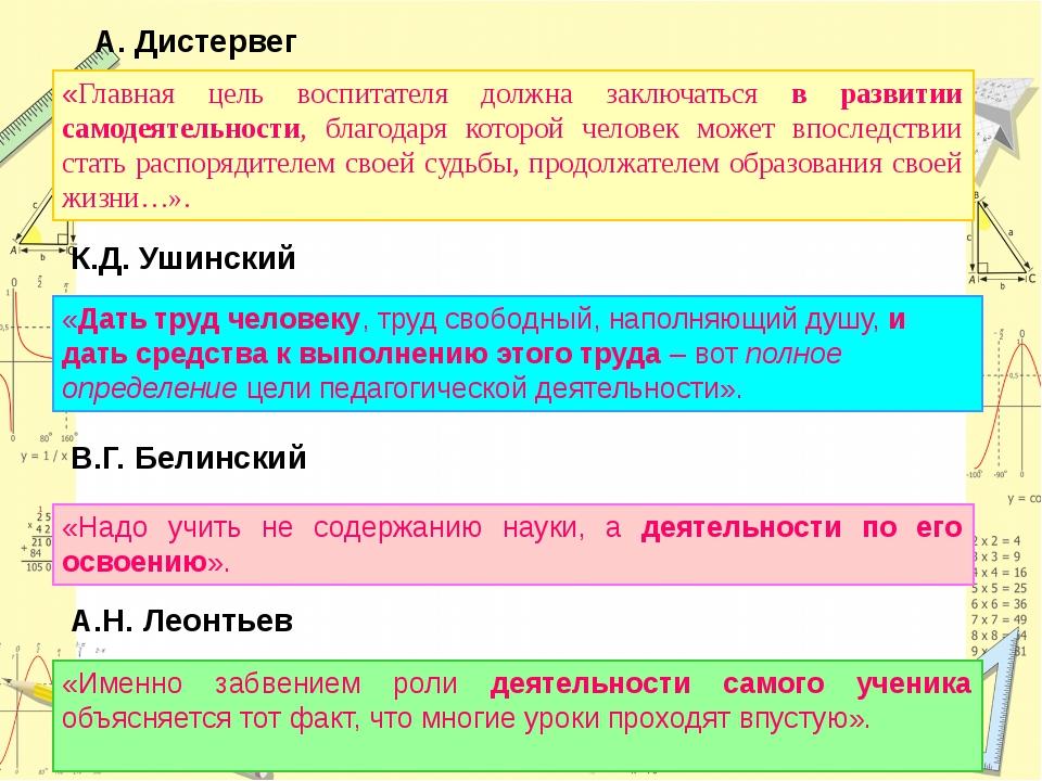 А. Дистервег