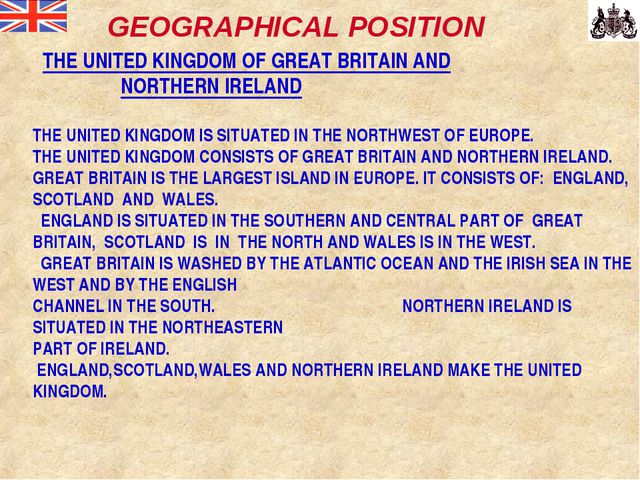 THE UNITED KINGDOM OF GREAT BRITAIN AND NORTHERN IRELAND THE UNITED KINGDOM...