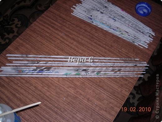 Мастер-класс Плетение: Мастер класс плетения из газеты для новичков Бумага газетная Отдых. Фото 2