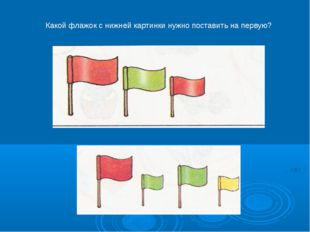 Какой флажок с нижней картинки нужно поставить на первую?