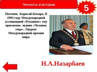 Личность в истории 30 Какое имя было присвоено Шокану Уалиханову при рождени